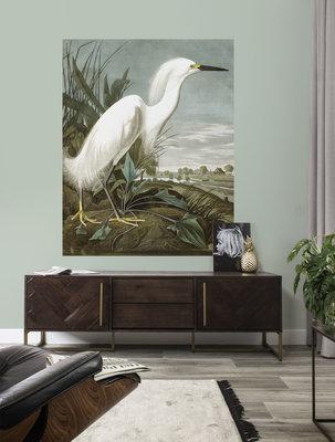 KEK Panel Snowy Heron PA-009 (Met Gratis Lijm)