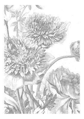 KEK Amsterdam Engraved Flowers IV WP.330 (Met Gratis Lijm)