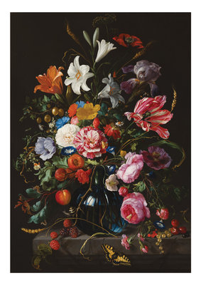 KEK Amsterdam Golden Age Flowers V WP.231 (Met Gratis Lijm)