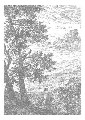 KEK Amsterdam Engraved Landscape IV WP.315 (Met Gratis Lijm)