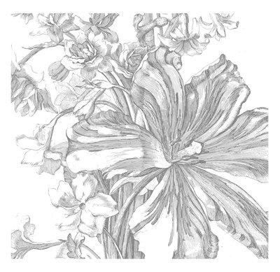 KEK Amsterdam Engraved Flowers II WP.332 (Met Gratis Lijm)