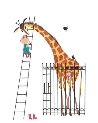 KEK Amsterdam Giant Giraffe WS.040 (Met Gratis Lijm)