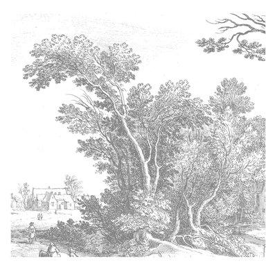 KEK Amsterdam Engraved Landscape V WP.321 (Met Gratis Lijm)