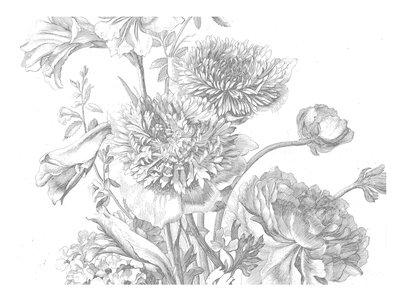 KEK Amsterdam Engraved Flowers IV WP.338 (Met Gratis Lijm)