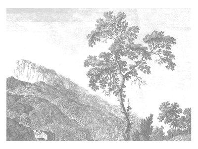 KEK Amsterdam Engraved Landscape I WP.322 (Met Gratis Lijm)