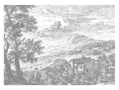 KEK Amsterdam Engraved Landscape IV WP.325 (Met Gratis Lijm)