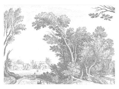 KEK Amsterdam Engraved Landscape V WP.326 (Met Gratis Lijm)
