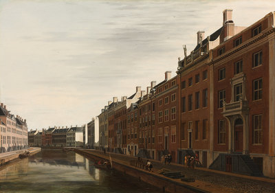 Rijksmuseum De Gouden Bocht Herengracht Amsterdam RM25 (Met Gratis Lijm)