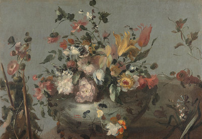 Rijksmuseum Bloemen Anoniem 1700 - 1799 RM34 (Met Gratis Lijm)