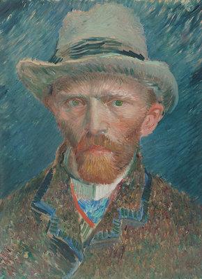 Rijksmuseum Vincent Van Gogh Zelfportret RM42 (Met Gratis Lijm)