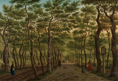 Rijksmuseum Het Herepad in het Haagse Bos RM44 (Met Gratis Lijm)