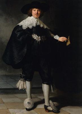 Rijksmuseum Portret Marten Soolmans RM46 (Met Gratis Lijm)