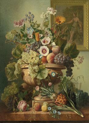 Rijksmuseum Stilleven met bloemen Eelke Jelles Eelkema RM7 (Met Gratis Lijm)