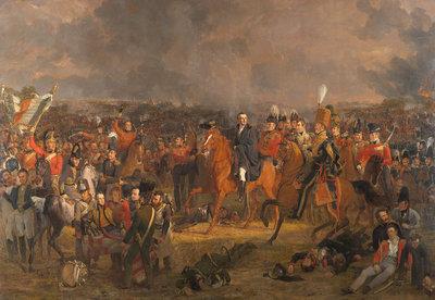 Rijksmuseum De Slag bij Waterloo Jan Willem Pieneman RM64 (Met Gratis Lijm)