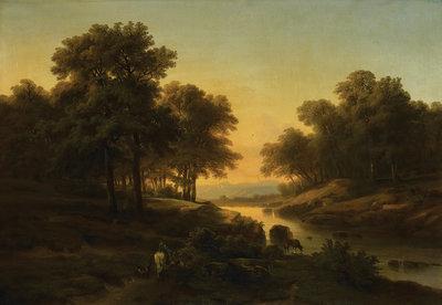 Rijksmuseum Landschap Alexandre Calame RM57 (Met Gratis Lijm)