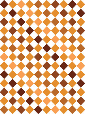 Brown Tiles Mosaic Fotobehang 10699VEA