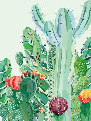 Cactus Fotobehang 11140VEA