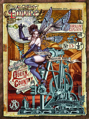 Alchemy Empire - For Fairie Queen and Country Fotobehang 13244VEA