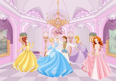Prinsessen Fotobehang 13237P8