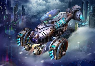 Spacecraft Fotobehang 12543P8