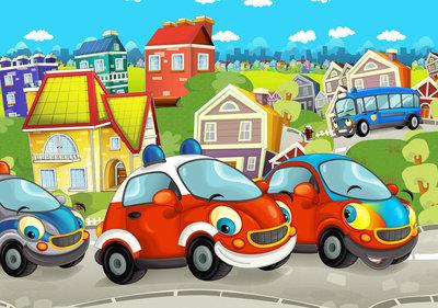 Cars Fotobehang 12536P8