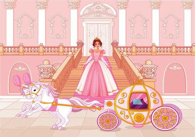 Prinsessen Fotobehang 12533P8