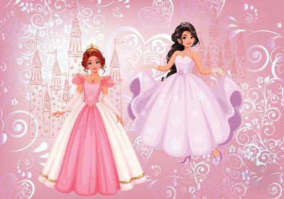 Prinsessen Fotobehang 12529P8