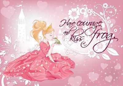 Prinsessen Fotobehang 12530P8
