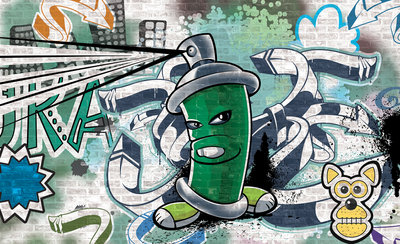 Graffiti Fotobehang 1396P8