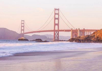 Fotobehang Golden Gate Bridge 10895P8