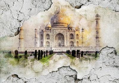 Taj Mahal Fotobehang 12614P8