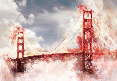 Golden Gate Bridge Fotobehang 12920P8
