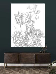 KEK Panel Engraved Flowers PA-015 (Met Gratis Lijm)