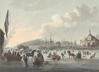 Rijksmuseum Ijsvermaak voor Rotterdam 1784 RM62 (Met Gratis Lijm)
