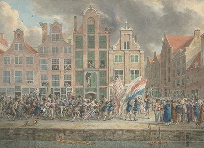 Rijksmuseum Anti-Engelse Demonstratie Rotterdam RM61 (Met Gratis Lijm)