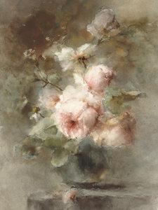 Rijksmuseum Een vaas met Rozen Margaretha Roosenboom RM56 (Met Gratis Lijm)